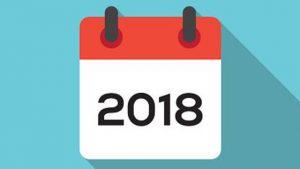 calendrier sportif 2018