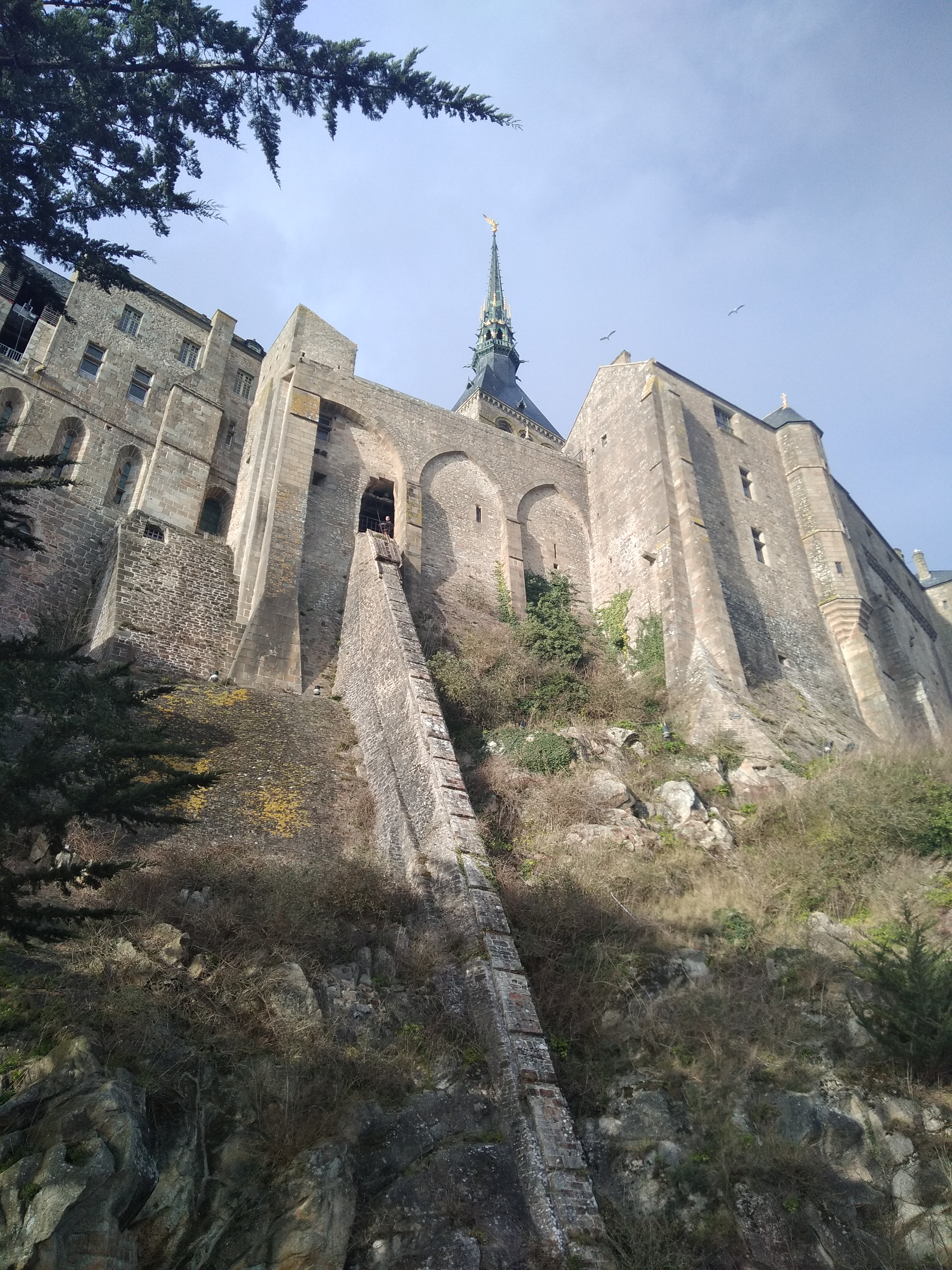 vue de l'abbaye
