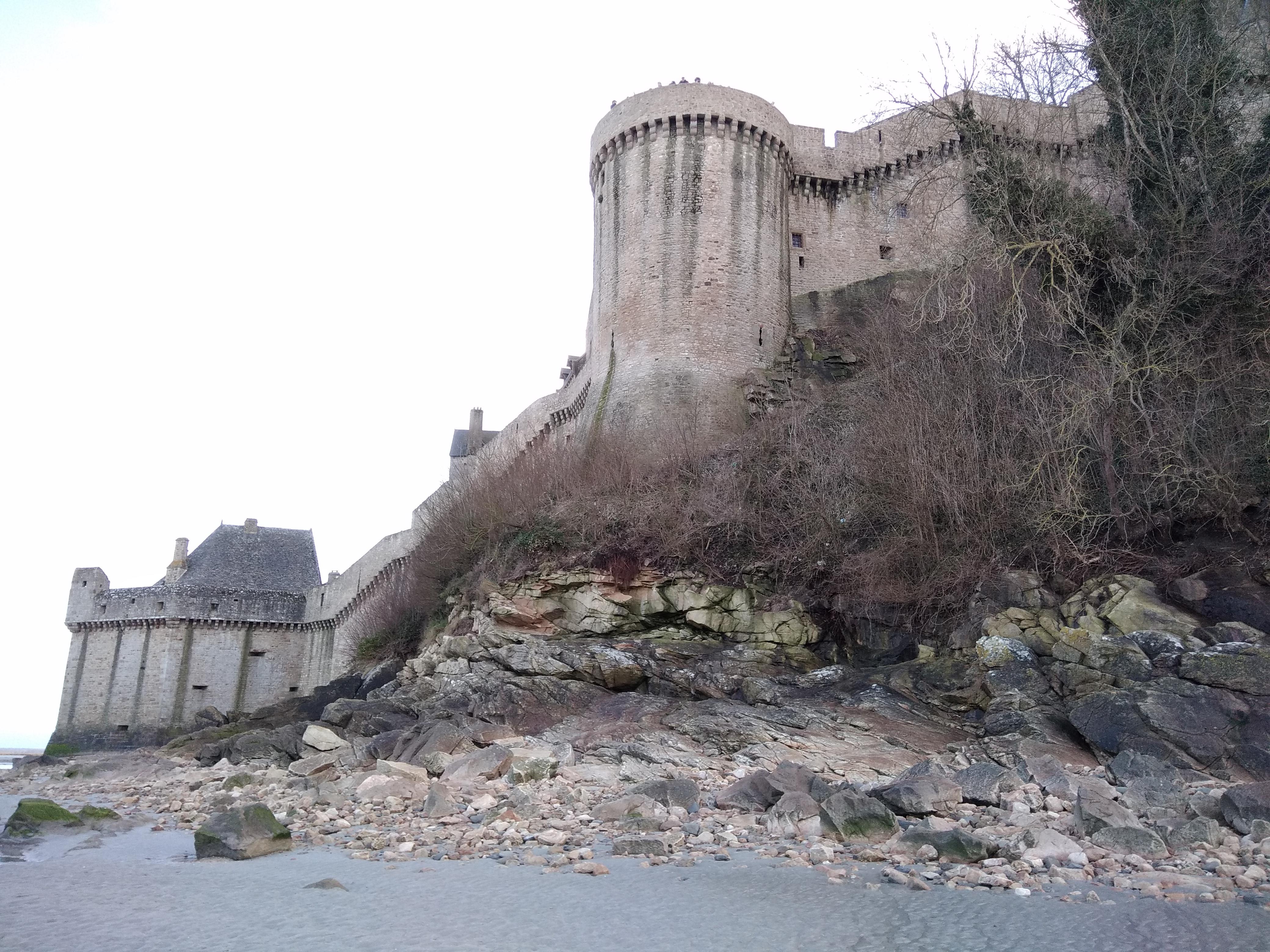 mont saint Michel la tour du nord