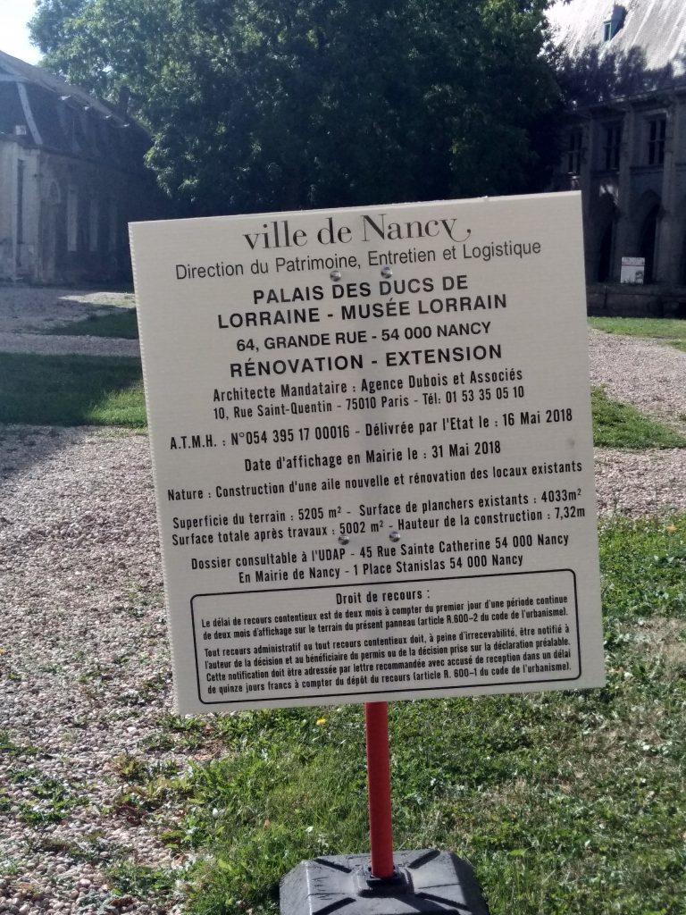 Panneau-travaux-palais-ducal-nancy