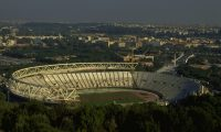1989:  General view of the Stadio Olimpico in Rome.  Mandatory Credit: Bob Martin /Allsport